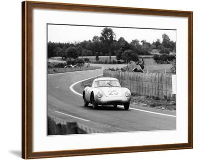 Porsche 550A Rs Coupe, Le Mans 24 Hours, France, 1956--Framed Photographic Print