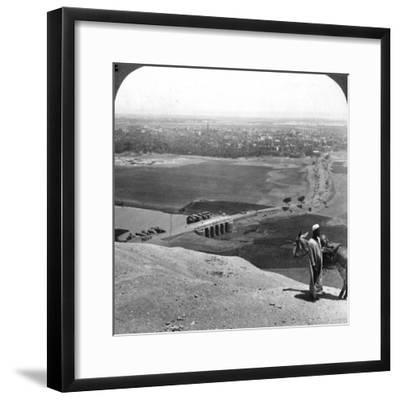 Assiut, the Largest City of Upper Egypt, 1905-Underwood & Underwood-Framed Photographic Print