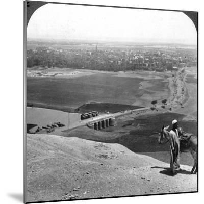 Assiut, the Largest City of Upper Egypt, 1905-Underwood & Underwood-Mounted Photographic Print