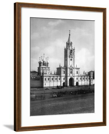 Strastnoy Monastery, Moscow, Russia, 1881- Scherer Nabholz & Co-Framed Photographic Print