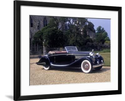 1937 Hispano-Suiza K6--Framed Photographic Print