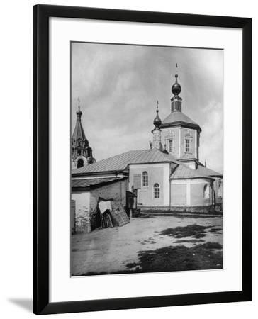 Church of St Stephen the Protomartyr, Beside the Yauza River, Moscow, Russia, 1881- Scherer Nabholz & Co-Framed Photographic Print