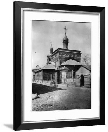 Church of St Michael the Archangel, Ovchinniki, Moscow, Russia, 1881- Scherer Nabholz & Co-Framed Photographic Print