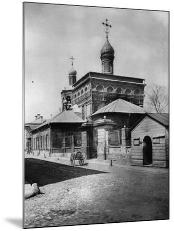 Church of St Michael the Archangel, Ovchinniki, Moscow, Russia, 1881- Scherer Nabholz & Co-Mounted Photographic Print