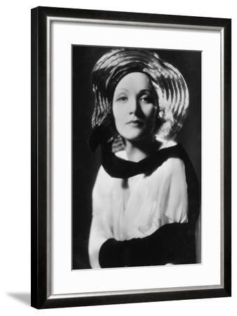 Marlene Dietrich (1901-199), German-Born American Actress, Singer and Entertainer, 20th Century--Framed Photographic Print