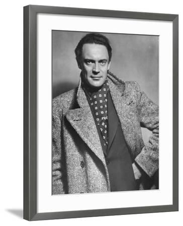 Gustav Diessl, Austrian Artist, and Film and Stage Actor, 20th Century- Sandau-Framed Photographic Print