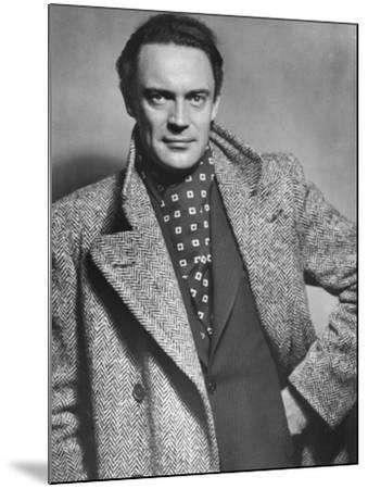 Gustav Diessl, Austrian Artist, and Film and Stage Actor, 20th Century- Sandau-Mounted Photographic Print