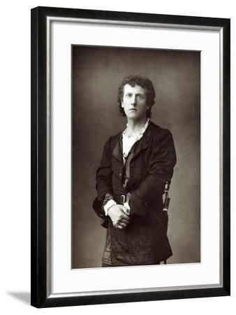 Wilson Barrett (1846-190), English Theatrical Actor-Manager, C1890--Framed Photographic Print