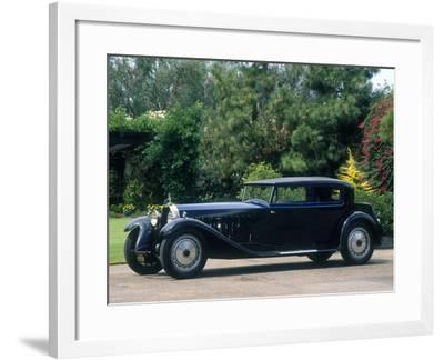 1927 Bugatti Type 41 Royale--Framed Photographic Print