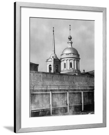 Church of St John Chrysostom under the Elm, Moscow, Russia, 1881- Scherer Nabholz & Co-Framed Photographic Print