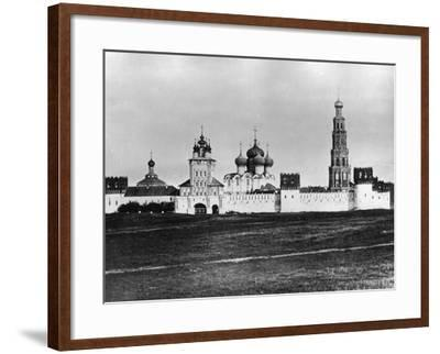 Novodevichy Convent (New Maidens' Conven), Moscow, Russia, 1879- Scherer Nabholz & Co-Framed Photographic Print