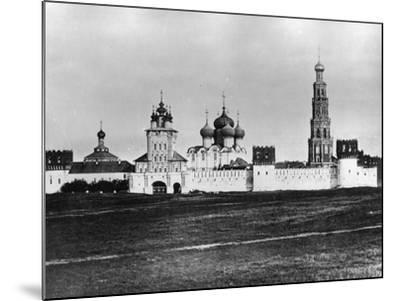Novodevichy Convent (New Maidens' Conven), Moscow, Russia, 1879- Scherer Nabholz & Co-Mounted Photographic Print