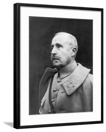 Robert Georges Nivelle, French First World War Genreral--Framed Photographic Print