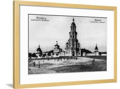 Monastery of St Andronicus, Moscow, Russia, 1900s- Scherer Nabholz & Co-Framed Photographic Print