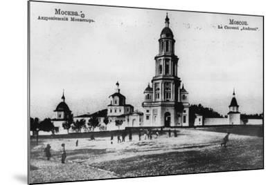 Monastery of St Andronicus, Moscow, Russia, 1900s- Scherer Nabholz & Co-Mounted Photographic Print