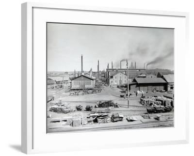 Lysva Iron Foundry, Russia, 1900s--Framed Photographic Print