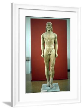 Kouros, C650-500 BC--Framed Photographic Print