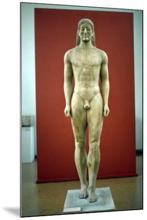 Kouros, C650-500 BC--Mounted Photographic Print