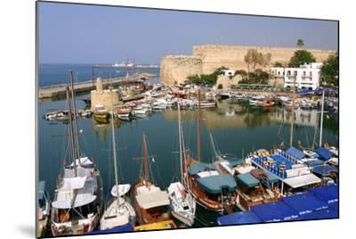 Harbour and Castle, Kyrenia (Girne), North Cyprus-Peter Thompson-Mounted Photographic Print