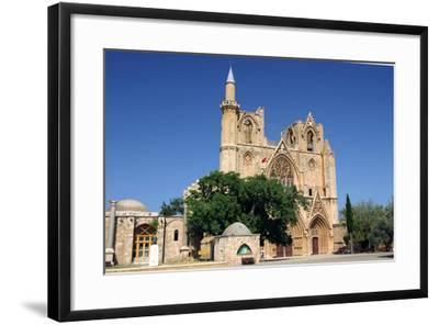 Lala Mustafa Pasha Mosque, Famagusta, North Cyprus-Peter Thompson-Framed Photographic Print