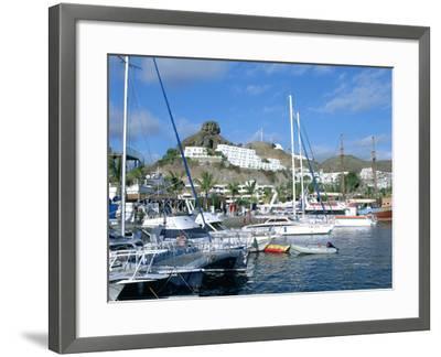 Marina, Puerto Rico, Gran Canaria, Canary Islands-Peter Thompson-Framed Photographic Print