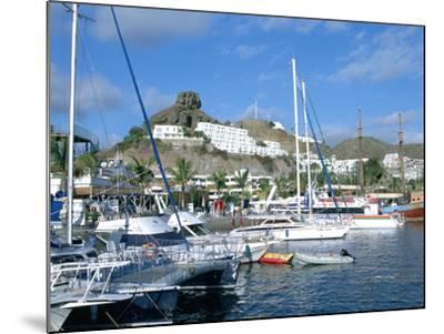 Marina, Puerto Rico, Gran Canaria, Canary Islands-Peter Thompson-Mounted Photographic Print