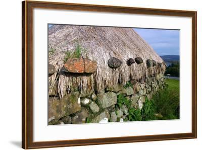 Black House, Colbost Folk Museum, Skye, Highland, Scotland-Peter Thompson-Framed Photographic Print
