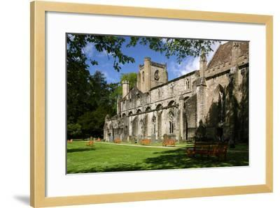 Dunkeld Cathedral, Perthshire, Scotland-Peter Thompson-Framed Photographic Print