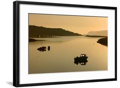Sound of Ulva, Isle of Mull, Argyll and Bute, Scotland-Peter Thompson-Framed Photographic Print