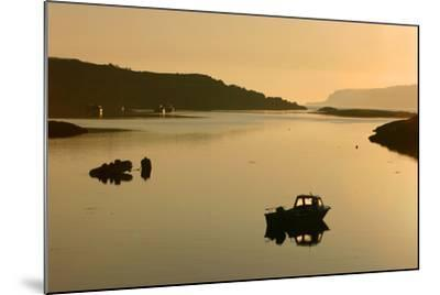 Sound of Ulva, Isle of Mull, Argyll and Bute, Scotland-Peter Thompson-Mounted Photographic Print