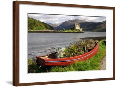Eilean Donan Castle, Highland, Scotland-Peter Thompson-Framed Photographic Print