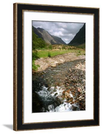 Glencoe, Highland, Scotland-Peter Thompson-Framed Photographic Print