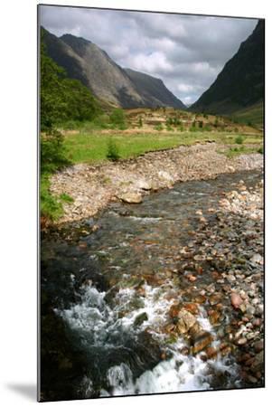 Glencoe, Highland, Scotland-Peter Thompson-Mounted Photographic Print