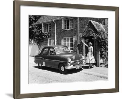 1956 Vauxhall Velox, (C1956)--Framed Photographic Print