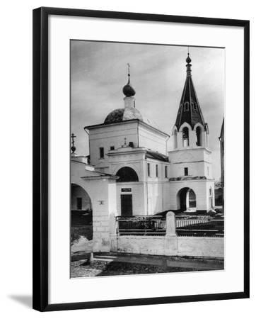 Church of Three Saints (Prelate), Kulishki, Moscow, Russia, 1881- Scherer Nabholz & Co-Framed Photographic Print