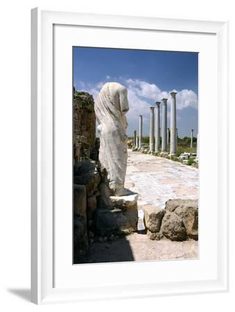 The Gymnasium, Salamis, North Cyprus-Peter Thompson-Framed Photographic Print
