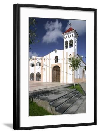 Church, Gran Tarajal, Fuerteventura, Canary Islands-Peter Thompson-Framed Photographic Print