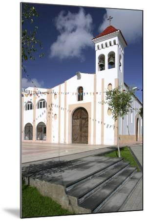 Church, Gran Tarajal, Fuerteventura, Canary Islands-Peter Thompson-Mounted Photographic Print