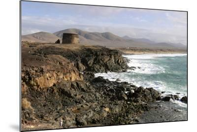 Tower, El Cotillo, Fuerteventura, Canary Islands-Peter Thompson-Mounted Photographic Print