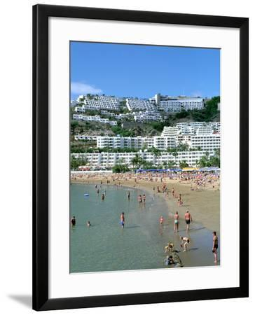 Beach, Puerto Rico, Gran Canaria, Canary Islands-Peter Thompson-Framed Photographic Print