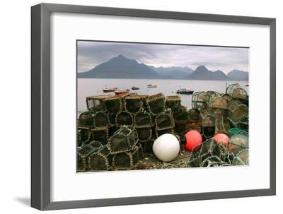 Cuillin Hills from Elgol, Isle of Skye, Highland, Scotland-Peter Thompson-Framed Photographic Print
