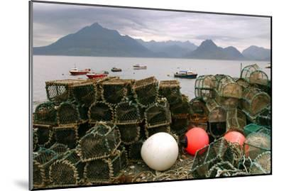 Cuillin Hills from Elgol, Isle of Skye, Highland, Scotland-Peter Thompson-Mounted Photographic Print