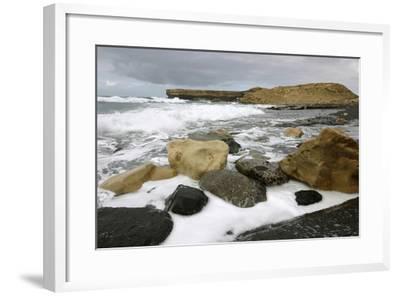 Playa De La Pared, Fuerteventura, Canary Islands-Peter Thompson-Framed Photographic Print