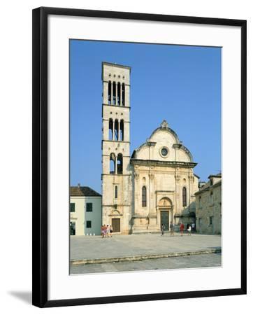 Hvar Cathedral, Croatia-Peter Thompson-Framed Photographic Print