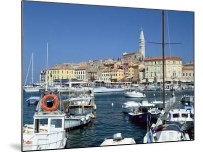 Rovinj Harbour, Croatia-Peter Thompson-Mounted Photographic Print