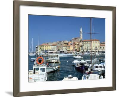 Rovinj Harbour, Croatia-Peter Thompson-Framed Photographic Print
