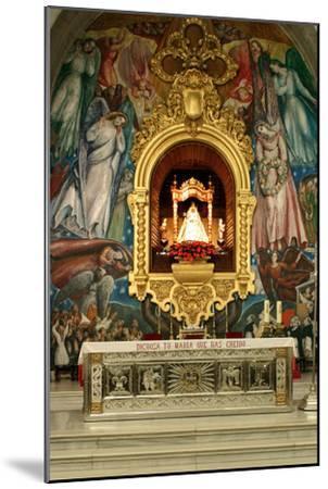 Inside Church, Candelaria, Tenerife, 2007-Peter Thompson-Mounted Photographic Print