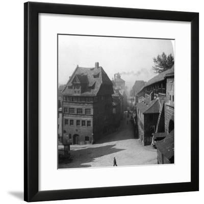 Albrecht Durer's House, Nuremberg, Germany, C1900-Wurthle & Sons-Framed Photographic Print