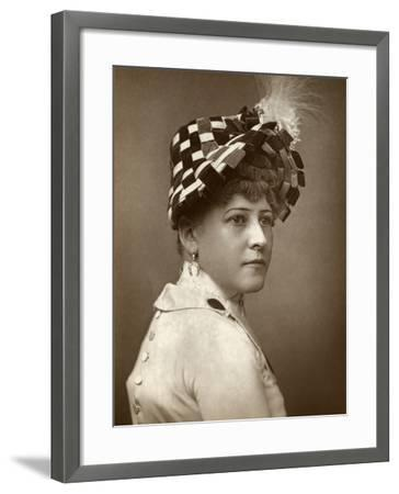 Kate Munroe, Actress, 1883--Framed Photographic Print