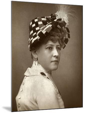 Kate Munroe, Actress, 1883--Mounted Photographic Print